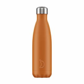Botella Chillys 500Ml Burnt Orange Matte