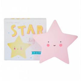 Lampara Star Light Rosa