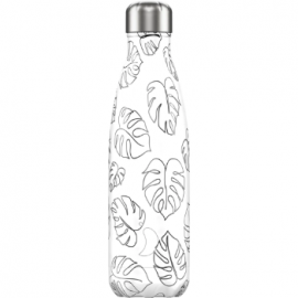 Botella Chilly'S Leaves Line Art 500Ml