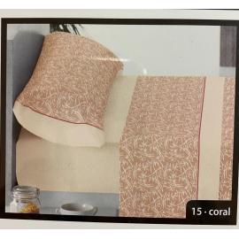 Juego de Sabanas 135 3 Piezas 100% Algodon Aire Bambu